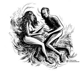 Andrecaetano Literaturaaqui by AndreIllustrates