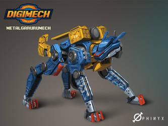 Metalgarurumech by Loone-Wolf
