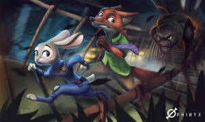 RUN JUDY RUNN by Loone-Wolf