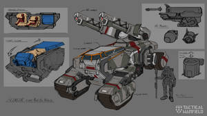 Slinger Rough Anti Air Concept by Loone-Wolf