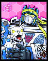 SG Soundwave and Ravage by k-tack