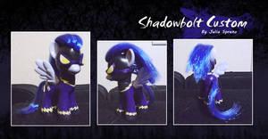 My Little Pony Shadowbolt Custom by kaizerin