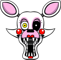 Five Nights at Freddy's Mangle shirt design by kaizerin