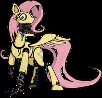 My Little Pony Fluttershy Animatronic by kaizerin