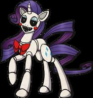 My Little Pony Rarity Animatronic by kaizerin