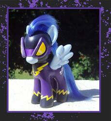 My Little Pony Custom - Shadowbolt by kaizerin