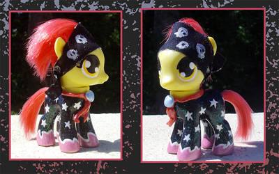 My Little Pony Custom - Applebloom by kaizerin