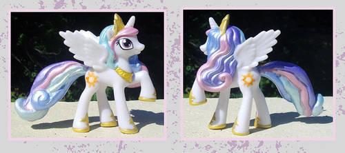 My Little Pony Custom - Princess Celestia by kaizerin