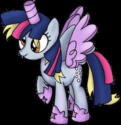 My Little Pony - Derpy Twilight Sparkle Costume by kaizerin