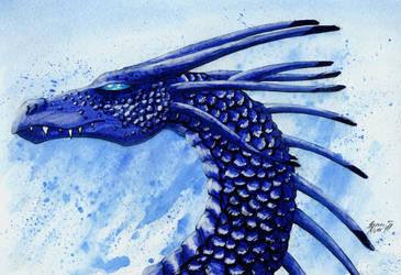 july 28 - Blue attire by Piyratheon
