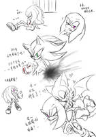 Knuckles doodles by amberday