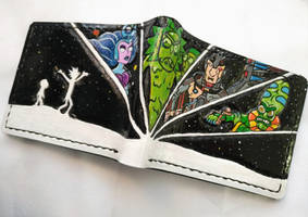 Rick and Morty leather wallet by Bubblypies