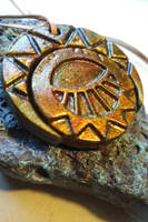 Mysterious cities of gold pendant by Bubblypies