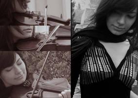 Violin by ffnana