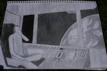 Interstellar Vagrant by Teejxamanbinnojol