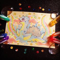 + Pkmn Rainbow + Lapras + by AngeKrystaleen