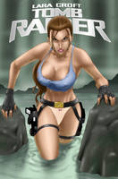 Lara Croft by redgvicente