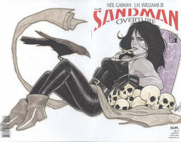 Death Blank Cover Commission by redgvicente
