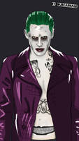 Joker ( Suicide Squad ) by Dubcarnage