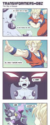 TF+DBZ: The Sky In Namek by khaamar