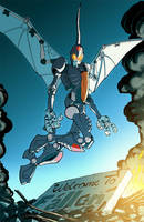 Maximum Dinobots 3 cover by khaamar