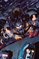 Transformers MTMTE #8 cover colors by khaamar