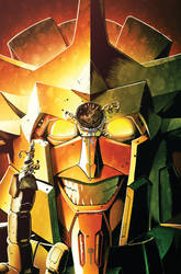Transformers MTMTE #20 cover colors by khaamar