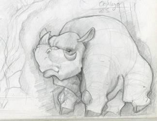 SketchBook Update001-Rino by Hugonimus