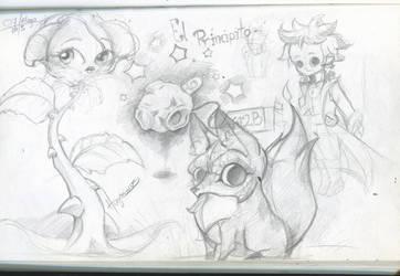 SketchBook Update002- El principito by Hugonimus