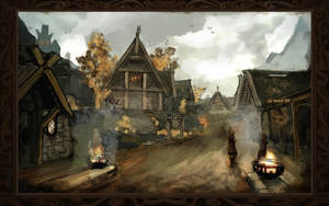 Whiterun by MarylinFill