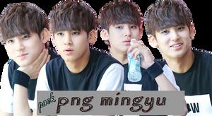 [RENDER/PNG PACK] SEVENTEEN's MINGYU by cindytadev