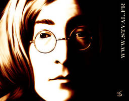 John Lennon by StephanieVALENTIN