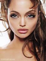 Angelina Jolie Doll by StephanieVALENTIN
