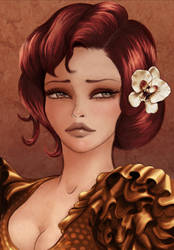 Flamenco 3 by StephanieVALENTIN