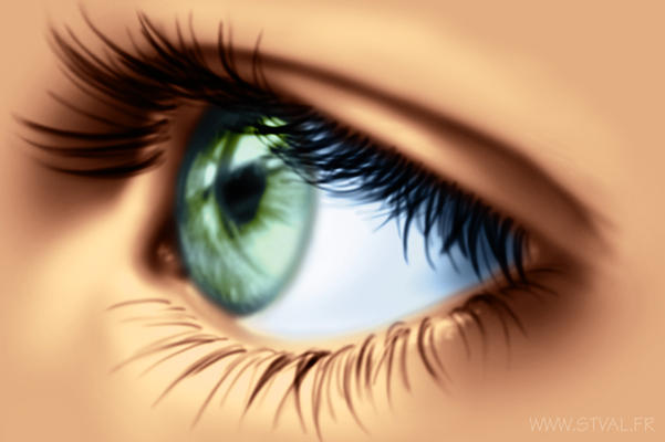 Eye II by StephanieVALENTIN