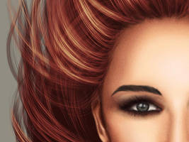 Realistic hair tutorial: video and brushes by StephanieVALENTIN