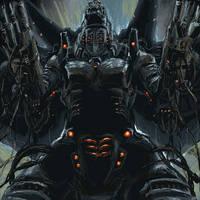 Mecha Godzilla by TAKA-F