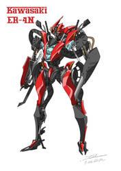 Bike Transformer 'ER-4N' by TAKA-F