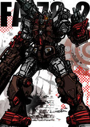 Heavy Gundam by TAKA-F