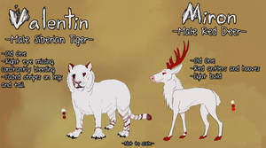 Valentin and Miron by Songdog-StrayFang