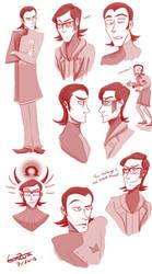 Maxie Sketches by Gin-Zura