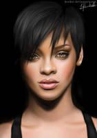 Rihanna by Keuker
