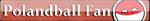 Polandball Fan Button by PrussianGala