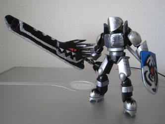 Stikfas Black Dragon Knight by meadeslemicah