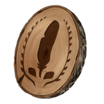 Wooden Token by AlphaStryx