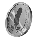 Silver Token by AlphaStryx