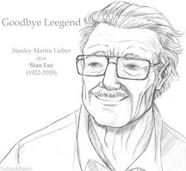 Stan Lee by TiaBlackRaven