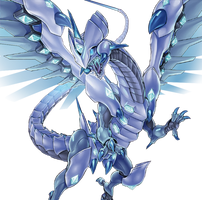 Blue-Eyes Chaos Dragon by coccvo