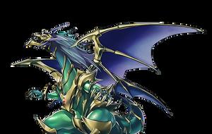 Chaos Emperor The Armageddon Dragon by coccvo