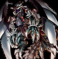 Dark Armed The Annihilation Dragon by coccvo